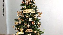 Hướng dẫn trang trí cây thông Noel