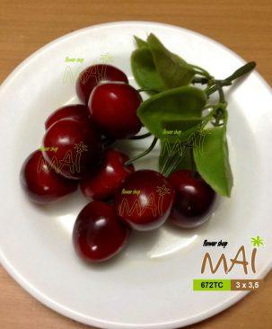 Chùm cherry nhựa 672TC